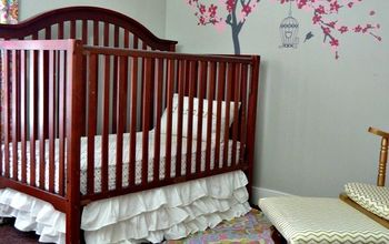 Baby Nursery Makeover on a Budget