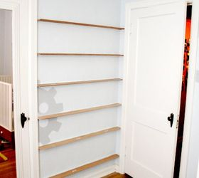 put that wasted space behind a door to good use doors organizing shelving & Put That Wasted Space Behind a Door To Good Use! | Hometalk