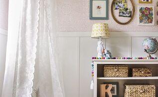 a sunny sanctuary for a little girl, bedroom ideas, home decor
