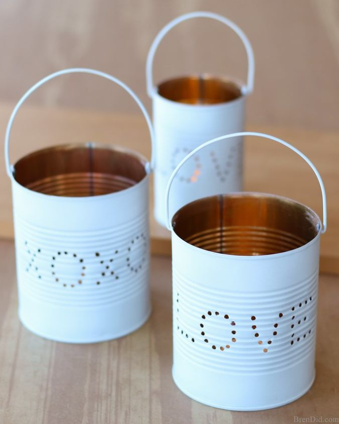 Valentine Tin Lanterns