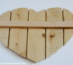 diy heart door hanger crafts seasonal holiday decor valentines day ideas woodworking & DIY Heart Door Hanger | Hometalk