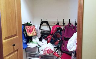 100 cleaning closet reveal, cleaning tips, closet, organizing, storage ideas