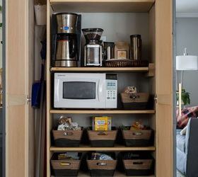 How To Organize A Small Pantry, Closet, Diy, How To, Kitchen Cabinets