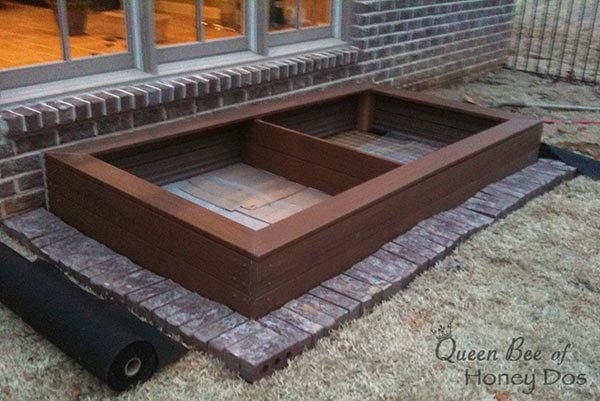 diy composite raised garden bed, container gardening, diy, gardening, how to, woodworking projects