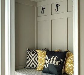 Mudroom In A Closet Update, Closet, Diy, Foyer, Painting