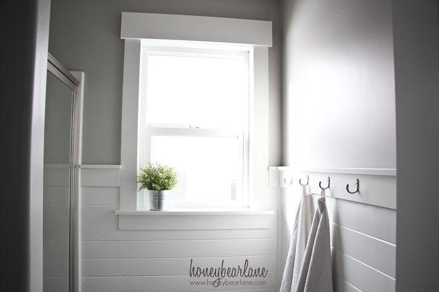 Planked Bathroom Wall | Hometalk
