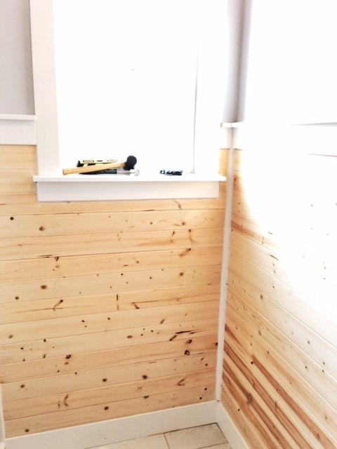 Planked Bathroom Wall | Hometalk