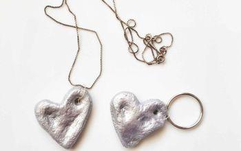 Salt Dough Thumbprint Heart