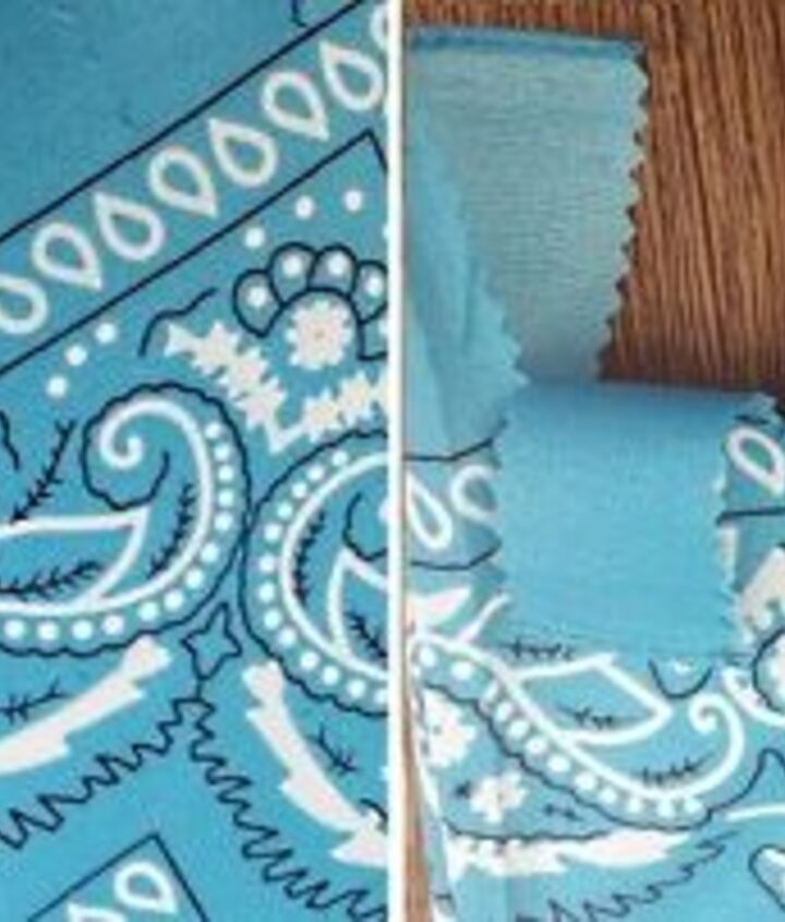 easy no sew bandana heart pillow, crafts, seasonal holiday decor, valentines day ideas