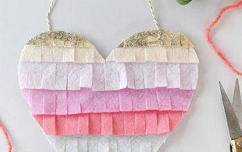 Create Simple Valentine's Day Heart Decor!