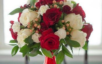 diy valentine s centerpiece, seasonal holiday decor, valentines day ideas