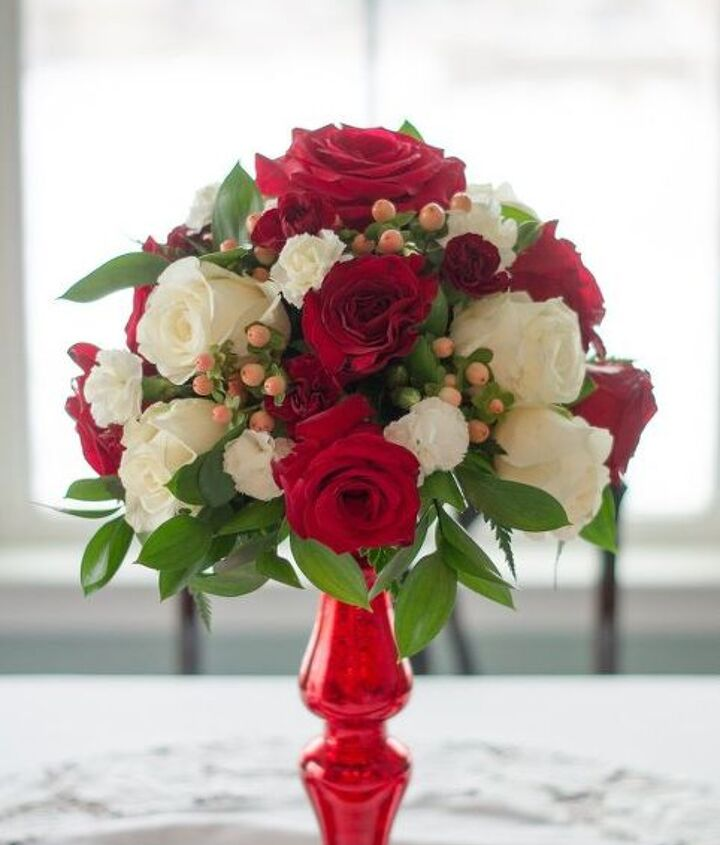 diy valentine s centerpiece, seasonal holiday decor, valentines day ideas