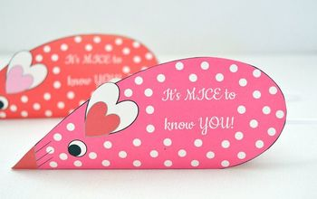 Valentines Day Candy Mice