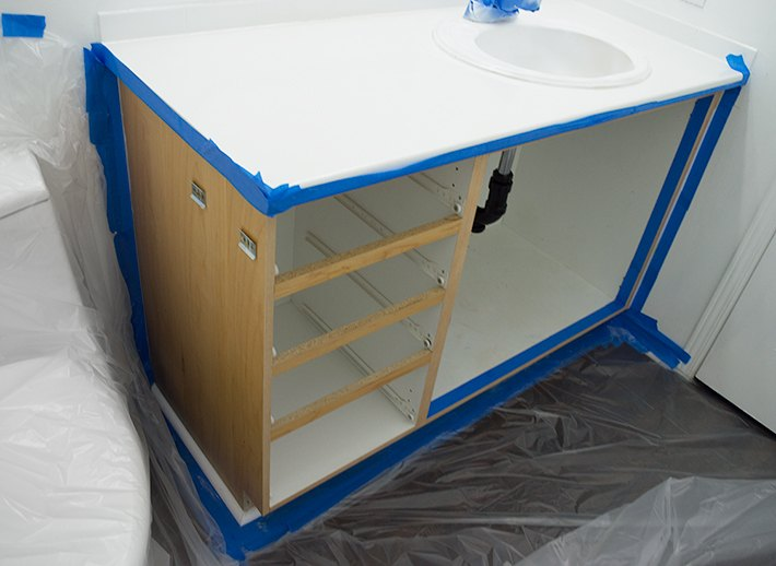 How To Paint Bathroom Cabinets Hometalk - How to paint bathroom cabinets like a pro