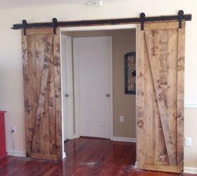 sliding barn doors the sequel diy doors woodworking projects & Sliding Barn Doors--The Sequel | Hometalk
