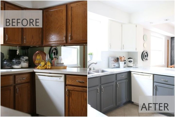 Fixer Upper Inspired Kitchen Redo Using Mostly Paint! | Hometalk