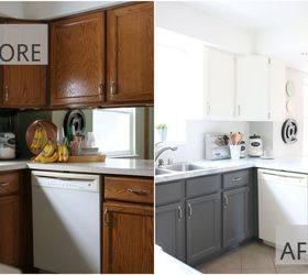 Lovely Fixer Upper Inspired Kitchen Redo Using Mostly Paint, Home Maintenance  Repairs, Kitchen Cabinets,