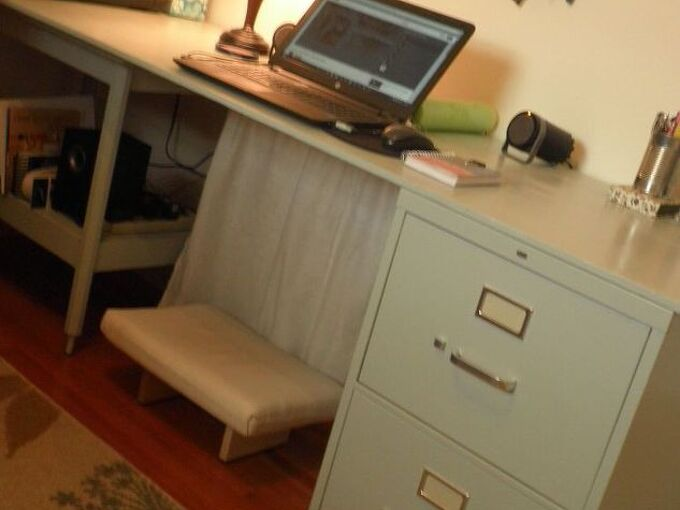 a super simple diy desk, diy, how to, painted furniture, repurposing upcycling