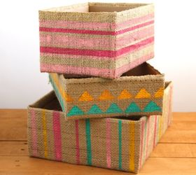 Superbe Diy Storage Boxes From Up Cycled Cardboard Boxes, Organizing, Repurposing  Upcycling, Storage Ideas