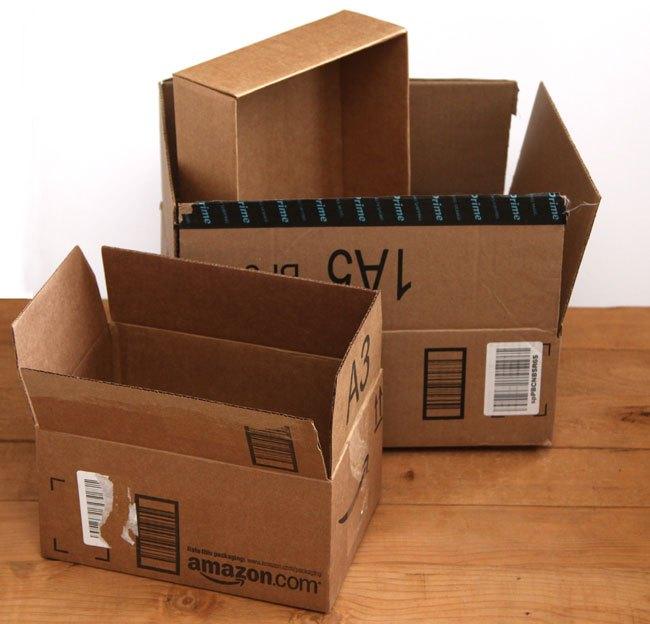 Diy Storage Bo From Up Cycled Cardboard Organizing Repurposing Upcycling Ideas