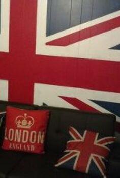 union jack flag, home decor