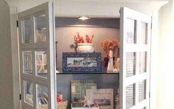DIY Coastal Cottage Cabinet