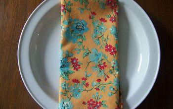 Cloth Napkins Tutorial