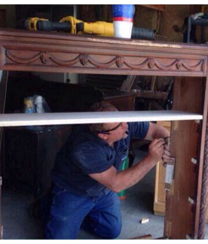 from junk to a jewel, diy, painted furniture, woodworking projects