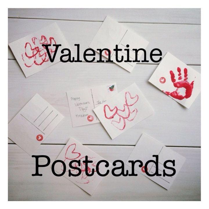Diy Valentine Postcards Hometalk