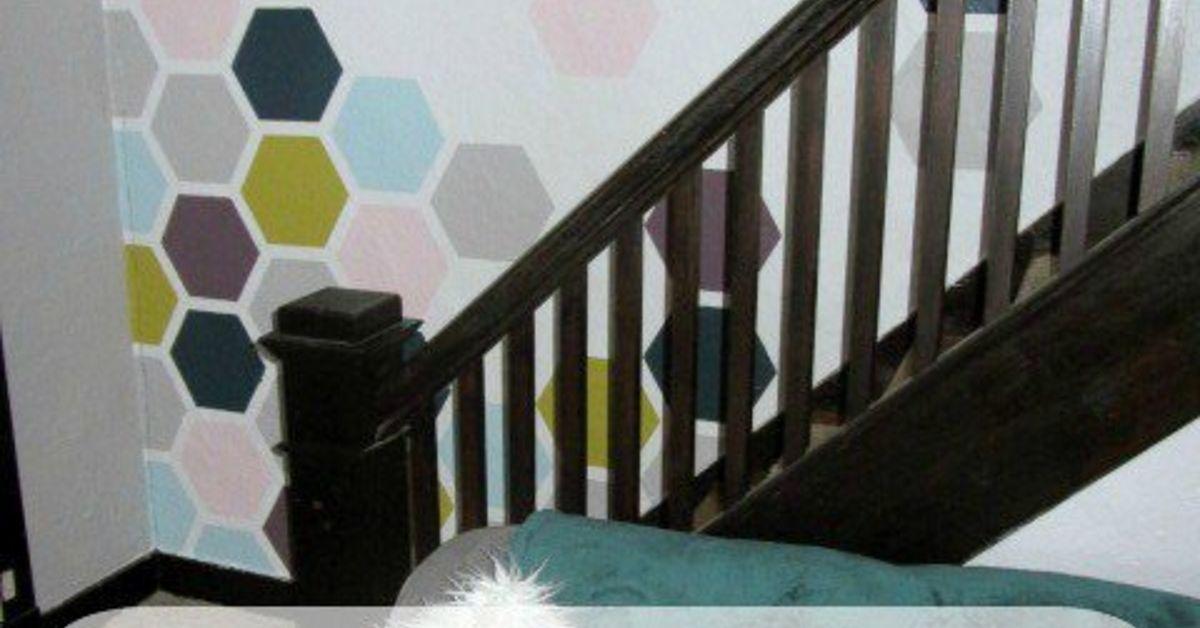 Diy Honeycomb Accent Wall Hometalk