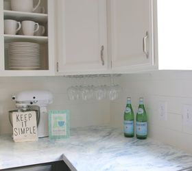 Faux Marble Painted Countertops, Countertops, How To, Kitchen Design,  Painting