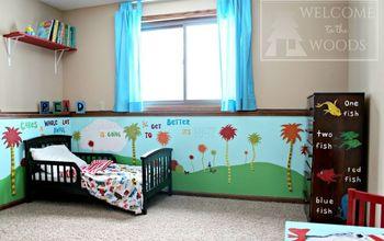 Dr. Seuss Children's Bedroom #kidspace