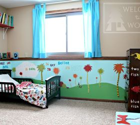 Dr Seuss Children S Bedroom Kidspace, Bedroom Ideas, Diy, Home Decor,  Painted