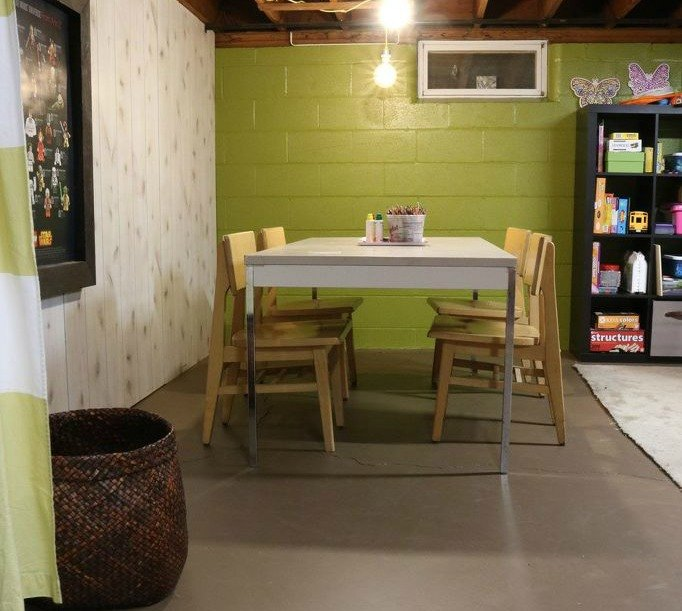 s 9 incredible organizing ideas we wish we d seen sooner, organizing, repurposing upcycling, Their basement turned art room