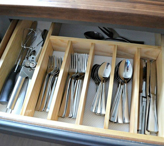 s 9 incredible organizing ideas we wish we d seen sooner, organizing, repurposing upcycling, This piece of utensil drawer perfection