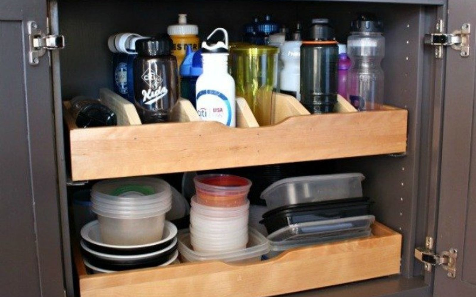 s 9 incredible organizing ideas we wish we d seen sooner, organizing, repurposing upcycling, These customized DIY drawer dividers