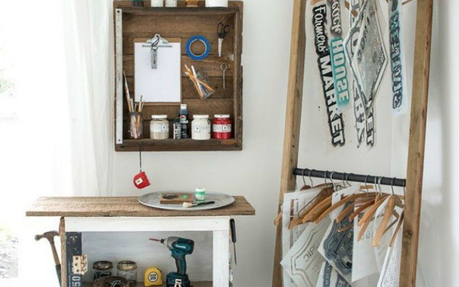 s 9 incredible organizing ideas we wish we d seen sooner, organizing, repurposing upcycling, This crafter approved stencil storage