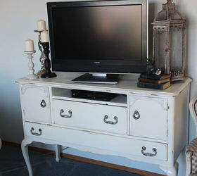 Wood TV Stands in Painted Furniture   Hometalk