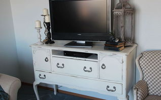 How To Turn A Buffet Into A TV Stand Hometalk - Buffet tv