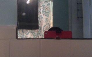 q large bathroom mirror, bathroom ideas, home decor, home decor dilemma, wall decor