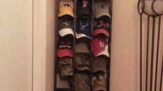 There Are Some Really Cool Display Ideas On Pinterest I Typed In Ball Cap Displays And Came Up With These Three Many Others