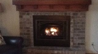 Replacing The Mantle On A 1978 Brick Fireplace Hometalk