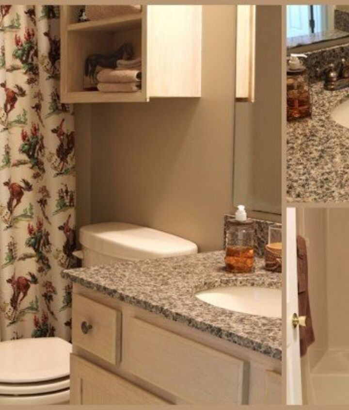 wheelchair accessible bathroom remodel with a touch of industrial decor, bathroom ideas, home decor, home improvement