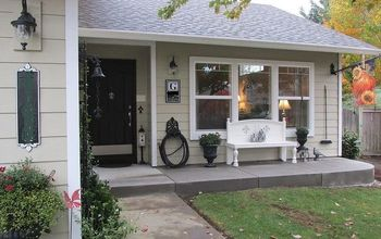 diy front porch addition, curb appeal, home improvement, patio, porches