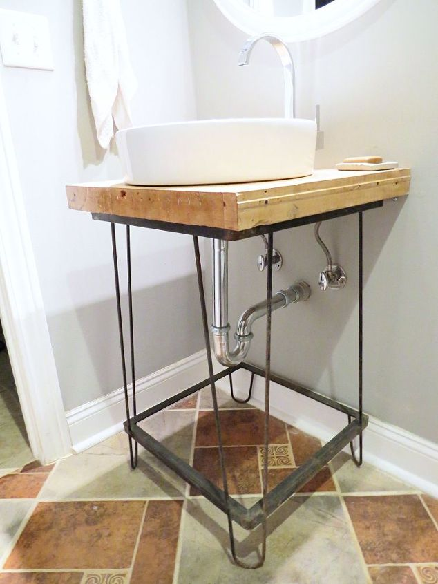 diy a bathroom vanity, bathroom ideas, diy, how to, woodworking projects