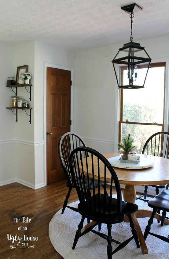 A Simple Colonial Breakfast Nook Makeover Dining Room Ideas Home Decor Kitchen Design