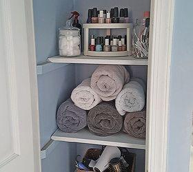 Organized Linen Closet, Closet, Organizing, Storage Ideas