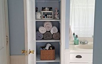 organized linen closet, closet, organizing, storage ideas