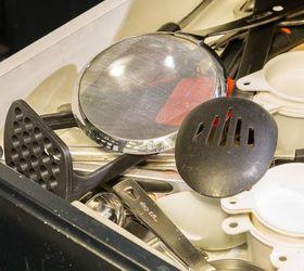 Kitchen Utensil Storage Ideas Part - 29: Diy Rotating Cooking Utensil Storage Rack, Diy, Kitchen Design, Organizing, Storage  Ideas