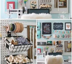 Marvelous A Pegboard Gallery Wall For My Office Craft Room, Craft Rooms, Crafts,  Organizing